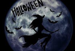 Sorcière et l'Halloween