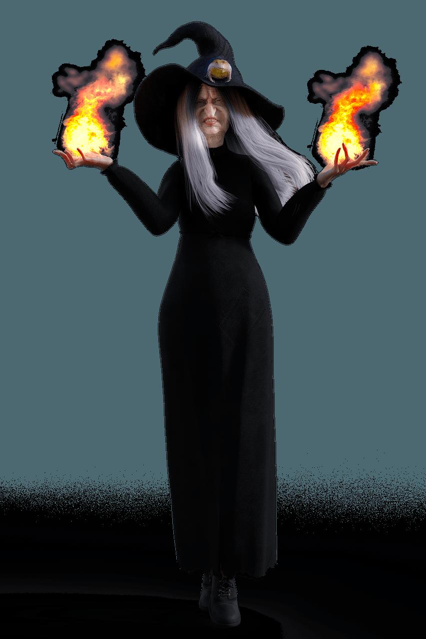 sorcière-laide